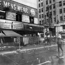 Madison and Western, 1968.